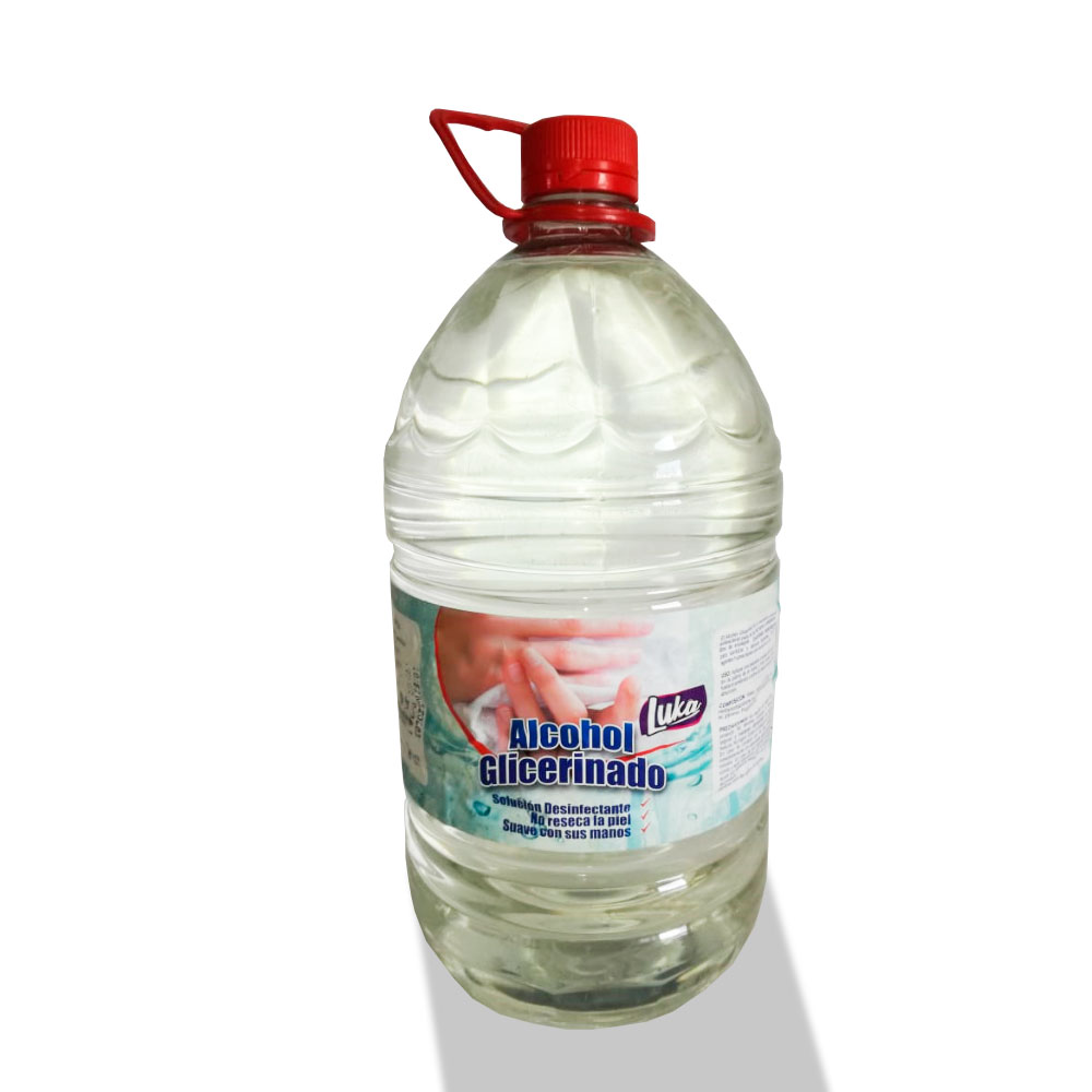 Alcohol Glicerinado X 3800 Ml  3800 Ml